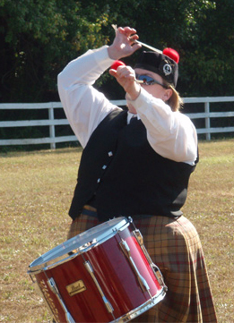 Linda tenor drumming Anne Arundel 2007